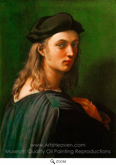 Raphael Sanzio, Portrait of Bindo Altoviti oil painting reproduction