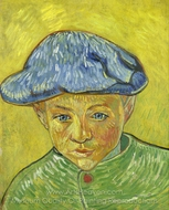 Portrait of Camille Roulin painting reproduction, Vincent Van Gogh