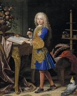 Portrait of Carlos III painting reproduction, Jean Ranc