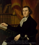 Portrait of Dr. Mason Fitch Cogswell painting reproduction, Ralph Earl