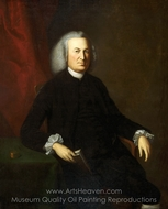 Portrait of Dr. Thomas Cadwalader painting reproduction, Charles Willson Peale
