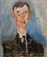 Portrait of Emile Lejeune painting reproduction, Chaim Soutine