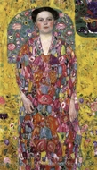 Portrait of Eugenia Primavesi painting reproduction, Gustav Klimt