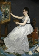Portrait of Eva Gonzales painting reproduction, �douard Manet