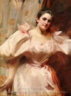 Portrait of Frieda Schiff painting reproduction, Anders Zorn