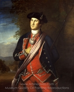 Portrait of George Washington painting reproduction, Charles Willson Peale