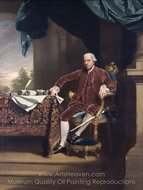 Portrait of Henry Laurens painting reproduction, John Singleton Copley