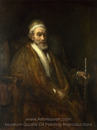 Portrait of Jacob Trip painting reproduction, Rembrandt Van Rijn