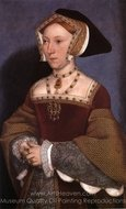 Portrait of Jane Seymour painting reproduction, Hans Holbein, The Younger