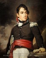 Portrait of Jean Terford David painting reproduction, Thomas Sully