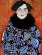 Portrait of Johanna Staude painting reproduction, Gustav Klimt
