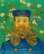 Portrait of Joseph Roulin painting reproduction, Vincent Van Gogh