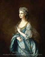 Portrait of Lady Rodney (Anne Harley) painting reproduction, Thomas Gainsborough