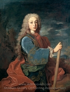 Portrait of Louis I of Spain painting reproduction, Jean Ranc
