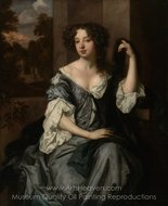 Portrait of Louise de Keroualle, Duchess of Portsmouth painting reproduction, Sir Peter Lely