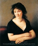 Portrait of Madame Bruyere painting reproduction, Antoine Jean Gros