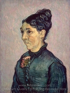 Portrait of Madame Trabuc painting reproduction, Vincent Van Gogh