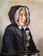 Portrait of Madame Tronchin painting reproduction, Jean-Etienne Liotard