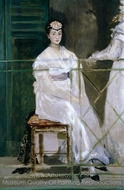 Portrait of Mademoiselle Claus painting reproduction, �douard Manet