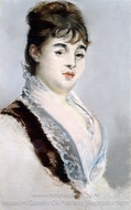 Portrait of Marie Colombier painting reproduction, �douard Manet