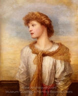 Portrait of Miss Lilian Macintosh painting reproduction, George Frederic Watts