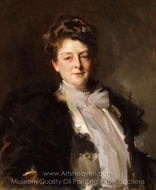 Portrait of Mrs. J. William White painting reproduction, John Singer Sargent