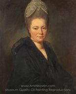 Portrait of Mrs. Marie-Jean Gomm painting reproduction, George Romney