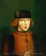 Portrait of Philip the Fair painting reproduction, Netherlandish Painter