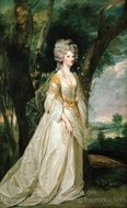Portrait of Phillippa Elizabeth Dorothy Malone, Lady Sunderlin painting reproduction, Sir Joshua Reynolds