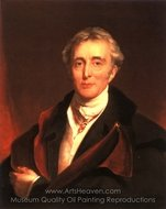Portrait of the Duke of Wellington painting reproduction, Sir Thomas Lawrence