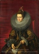 Portrait of the Infanta Isabella painting reproduction, Peter Paul Rubens