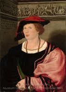 Portrait of the Junker Benedikt von Hertenstein painting reproduction, Hans Holbein, The Younger