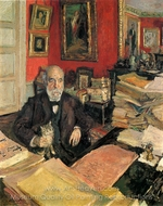 Portrait of Theodore Duret painting reproduction, Edouard Vuillard