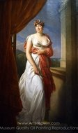 Portrait of Theresa Tallien painting reproduction, Francois Gerard