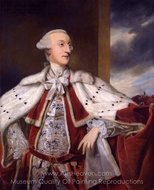 Portrait of Thomas Bruce Brudenell-Bruce, later 1st Earl of Ailesbury painting reproduction, Sir Joshua Reynolds