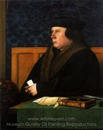 Portrait of Thomas Cromwell painting reproduction, Hans Holbein, The Younger