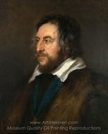 Portrait of Thomas Howard, 2nd Earl of Arundel painting reproduction, Peter Paul Rubens