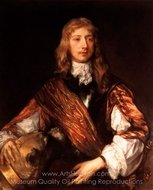 Portrait of Thomas Killigrew painting reproduction, Sir Anthony Van Dyck