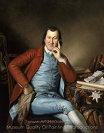 Portrait of Timothy Matlack painting reproduction, Charles Willson Peale