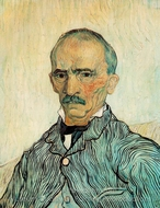 Portrait of Trabuc painting reproduction, Vincent Van Gogh