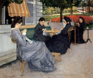 Portraits in the Countryside painting reproduction, Gustave Caillebotte