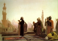 Prayer in Cairo (La Priere au Caire) painting reproduction, Jean-Leon Gerome
