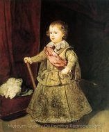 Prince Balthasar Carlos in Silver painting reproduction, Diego Velazquez