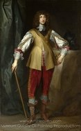 Prince Rupert, Count Palatine painting reproduction, Sir Anthony Van Dyck