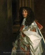 Prince Rupert, First Duke of Cumberland and Count Palatine of the Rhine painting reproduction, Sir Peter Lely