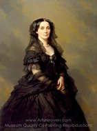 Princess Kotschoubey painting reproduction, Franz Xavier Winterhalter