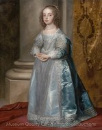 Princess Mary, Daughter of Charles I painting reproduction, Sir Anthony Van Dyck