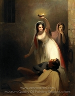 Prison Scene painting reproduction, Thomas Sully