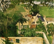 Quartier Four, Auvers-sur-Oise (Landscape, Auvers) painting reproduction, Paul C�zanne