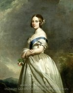 Queen Victoria painting reproduction, Franz Xavier Winterhalter